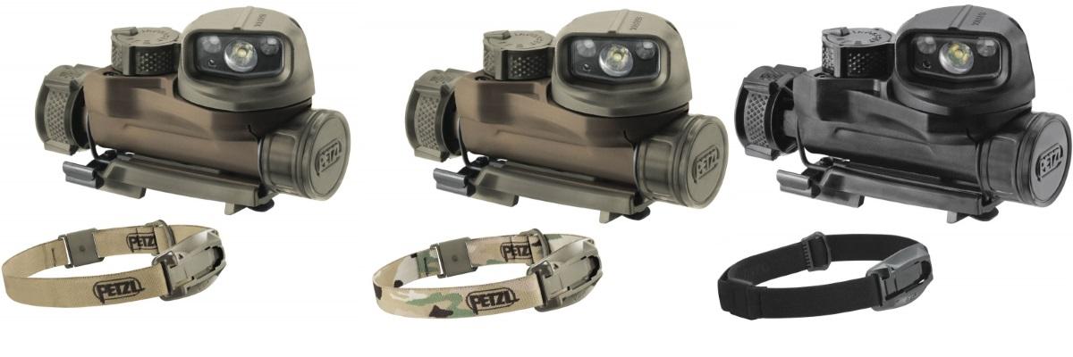 Тактический налобный фонарь PETZL STRIX IR