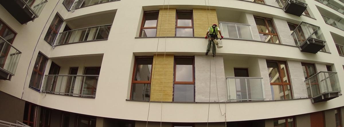 Какие высотные работы делают Украинские промышленные альпинисты  в Польше?
