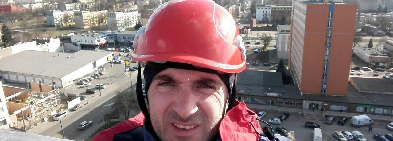 Сегодня был мой первый высотно-рабочий день в этом сезоне 2017 в Польше